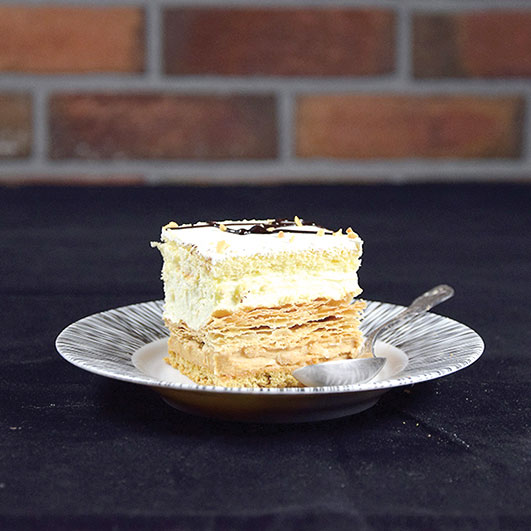 Tortowe z ciastem francuskim